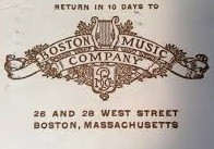 BOSTON MUSIC COMPANY