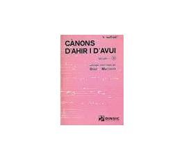 CANONS D'AHIR I D'AVUI Vol.2