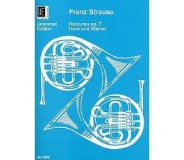 STRAUSS F. NOCTURNO OP.7...