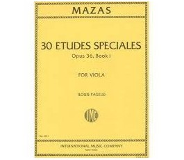 MAZAS J.F. 30 ETUDES...