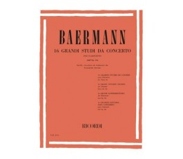 BAERMANN, 16 GRANDI STUDI...