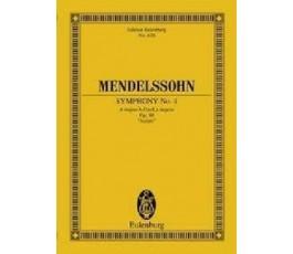 MENDELSSOHN SYMPHONY No. 4...