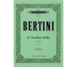 BERTINI 25 ESTUDIOS FÁCILES...