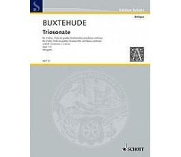 BUXTEHUDE D.TRIOSONATE LAm...
