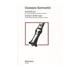 SAMMARTINI G.B. SONATA B...