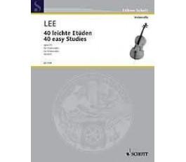 LEE S. 40 LEICHTE ETUDEN...