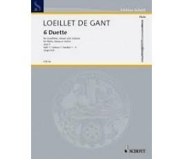 LOEILLET J.B. SECHS DUETTE...
