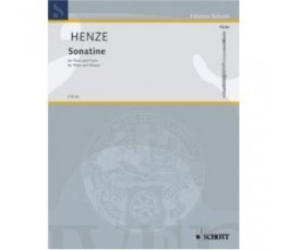 HENZE SONATINE FLUTE AND PIANO