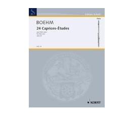 BOEHM T. 24 CAPRICES ETUDES...