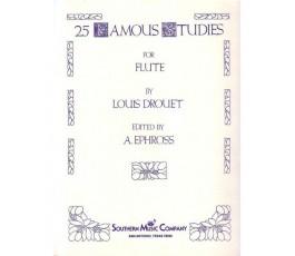 DROUET L. 25 FAMOUS STUDIES...