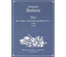 BRAHMS J. TRIO FUR VIOLINE,...