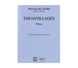 ADALID M. ENFANTILLAGES PIANO