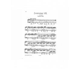 SCHUBERT SYMPHONIE Nr 8...