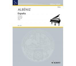 ALBENIZ ESPAÑA PARA PIANO...