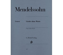 MENDELSSOHN SONGS WITHOUT...