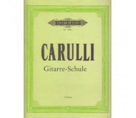 CARULLI F. GITARRE SCHULE