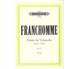 FRANCHOMME ETUDEN FUR...