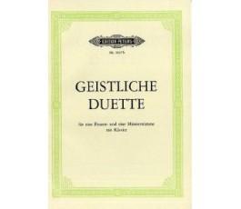 GEISTLICHE DUETTE