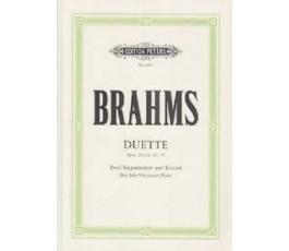 BRAHMS DUETTE Op. 28