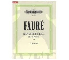 FAURE G. KLAVIERWERKE 3 13...