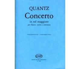 QUANTZ J.J. CONCERTO IN SOL...