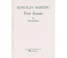 MARTINU FIRST SONATA FLUTE...