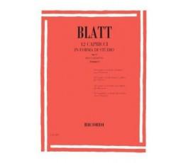 BLATT, 12 CAPRICCIIN FORMA...