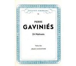 GAVINIES LES 24 MATINÉES...