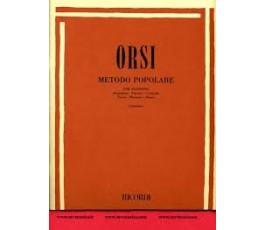 ORSI R. METODO POPOLARE SAXO