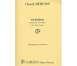 DEBUSSY C. EN BATEAU FLUTE...