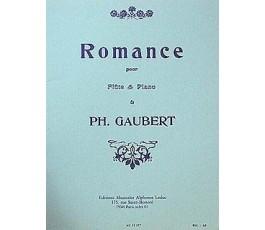 GAUBERT ROMANCE POUR FLUTE...