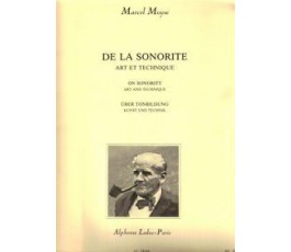 MOYSE, M. DE LA SONORITE...