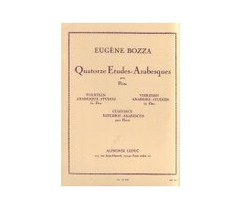 BOZZA E. 14 ETUDES...