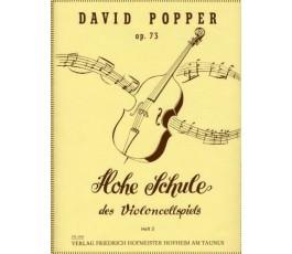 POPPER D. OP 73 HOHE SCHULE...