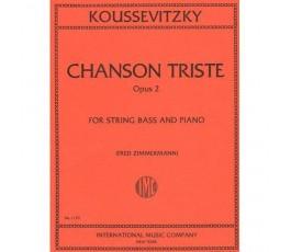 KOUSSEVITZKY CHANSON TRISTE...