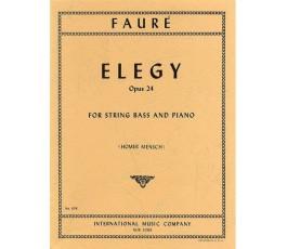 FAURE ELEGY OP.24 FOR...