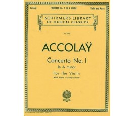 ACCOLAY CONCERTO No 1