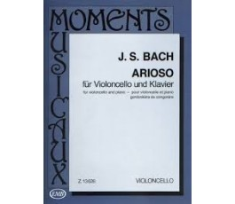 BACH J.S. ARIOSO CELLO/P