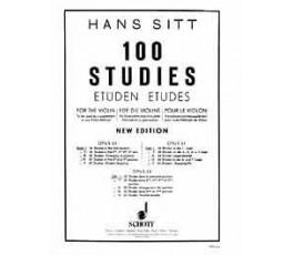 SITT H. 100 STUDIES FOR THE...