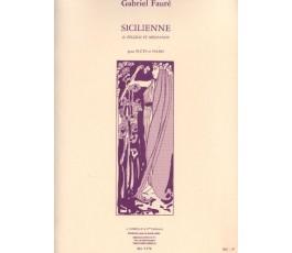 FAURE G. SICILIENNE POUR...
