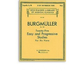 BURGMULLLER 25 ETUDES OP100...