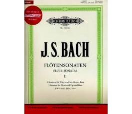 BACH FLUTE SONATAS II  ( CD )