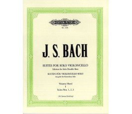 BACH J.S. SUITES FOR SOLO...