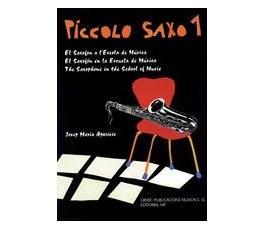 APARICIO, J.M. PICCOLO SAXO 1