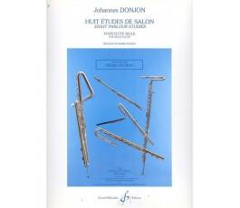 DONJON HUIT ETUDES DE SALON...