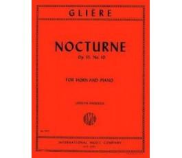 GLIERE NOCTURNE OP.35 Nº 10...