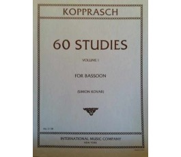 KOPPRASCH 60 STUDIES BOOK I...