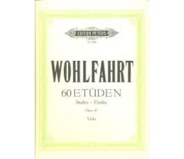WOHLFAHRT 60 ETUDEN OP.45...