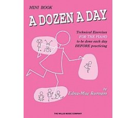 BURNAM A DOZEN A DAY MINI BOOK
