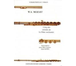 MOZART W.A. CINQ EXTRAITS...